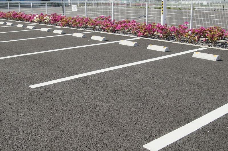 駐車場の舗装